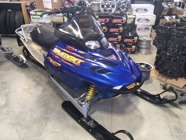 02 Summit 800 HighMark at The Sled Parlor Used ATV Parts, and Used Snowmobile Parts