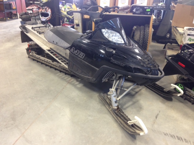 02 Summit 800 HighMark at The Sled Parlor we have Salvage Quads, and Salvage Sleds