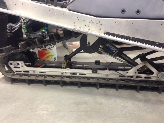 02 Summit 800 HighMark at The Sled Parlor has Used ATV Parts, and Recycled Snowmobile Parts