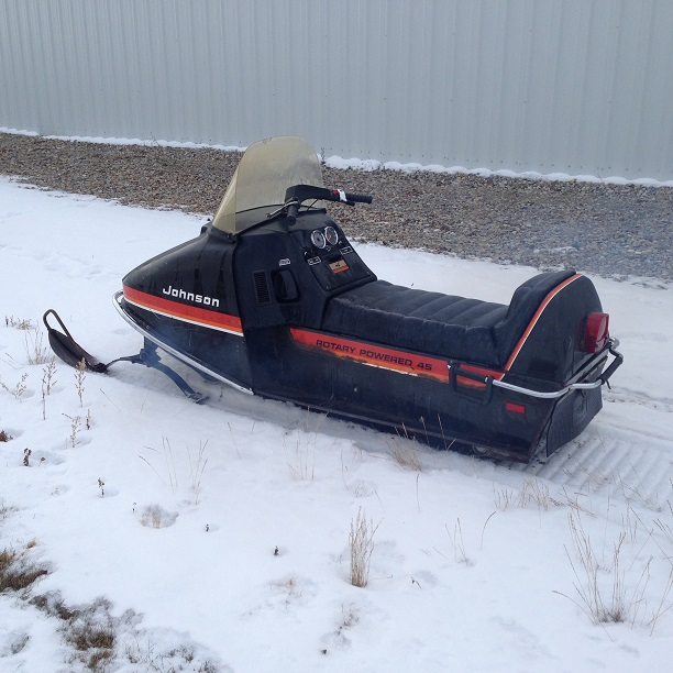 Johnson Rotary - The Sled Parlor Inc. Quad Salvage, Snowmobile Recycling