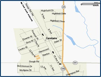 carstairs map